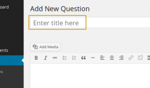 How to Add Custom Post Type Title Placeholder
